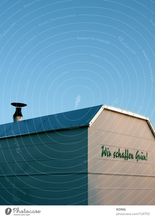 Nature Green Blue Summer Colour Wall (building) Characters Roof Advertising Services Typography Chimney Tin Journalist Summery