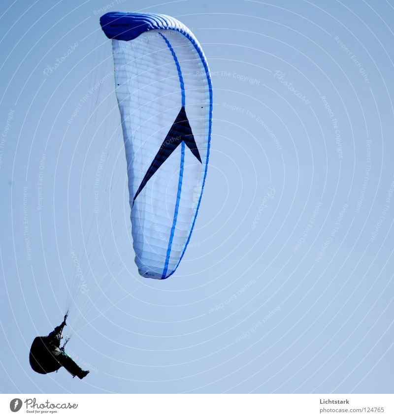 such a day Paraglider Air Leisure and hobbies Sky blue Warmth Paragliding Beginning Austria Tourism Concentrate Sports Playing Funsport Flying Freedom Colour