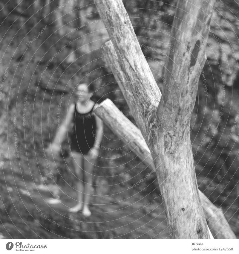 ADVENTURE PLAYGROUND Leisure and hobbies Playing Playground Climbing Climbing tree adventure playground Adventure Trip Human being Feminine Girl Infancy 1