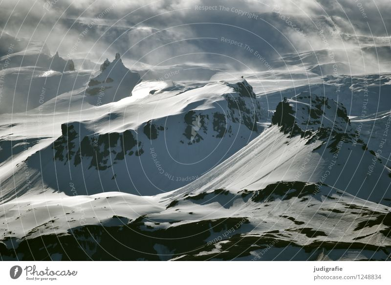 Nature Landscape Calm Clouds Cold Mountain Environment Natural Snow Moody Rock Ice Wild Weather Fog Climate