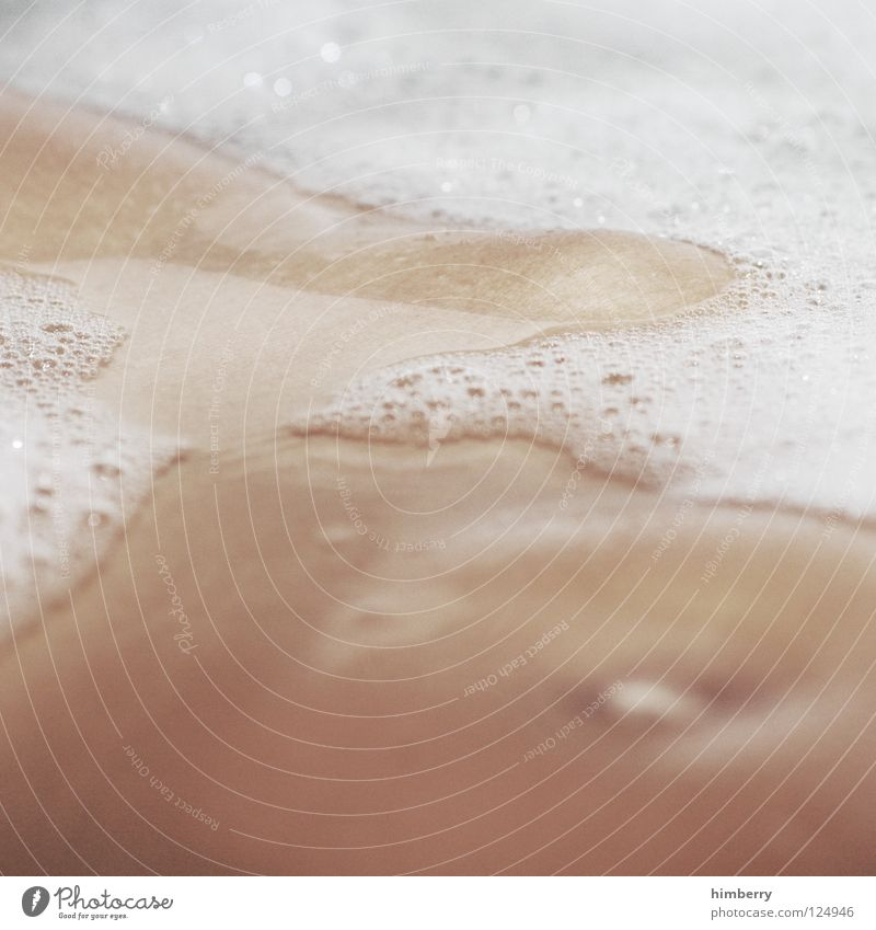 Woman Water Beach Eroticism Legs Body Swimming & Bathing Cleaning Clean Bathroom Bathtub Personal hygiene Stomach Wash Foam Intimacy