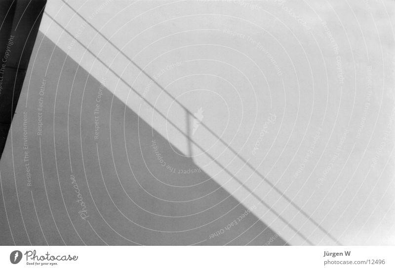 White Black Architecture Handrail Saxony-Anhalt Dessau Meisterhäuser