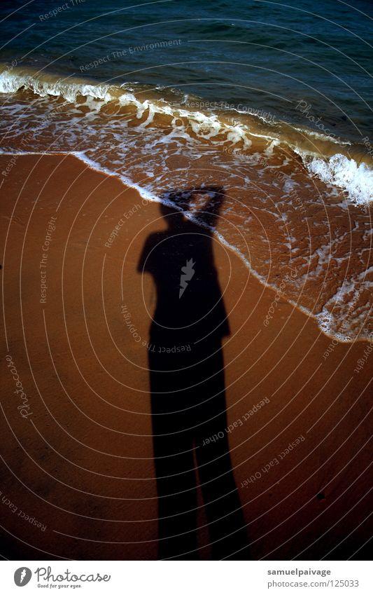 shadow Beach Ocean Summer Lomography Shadow Samuel Gê sea it polishes