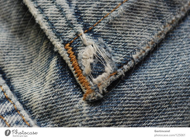 Old White Blue Black Yellow Colour Clothing Jeans Broken Protection Transience Pants Cloth Shabby Hollow