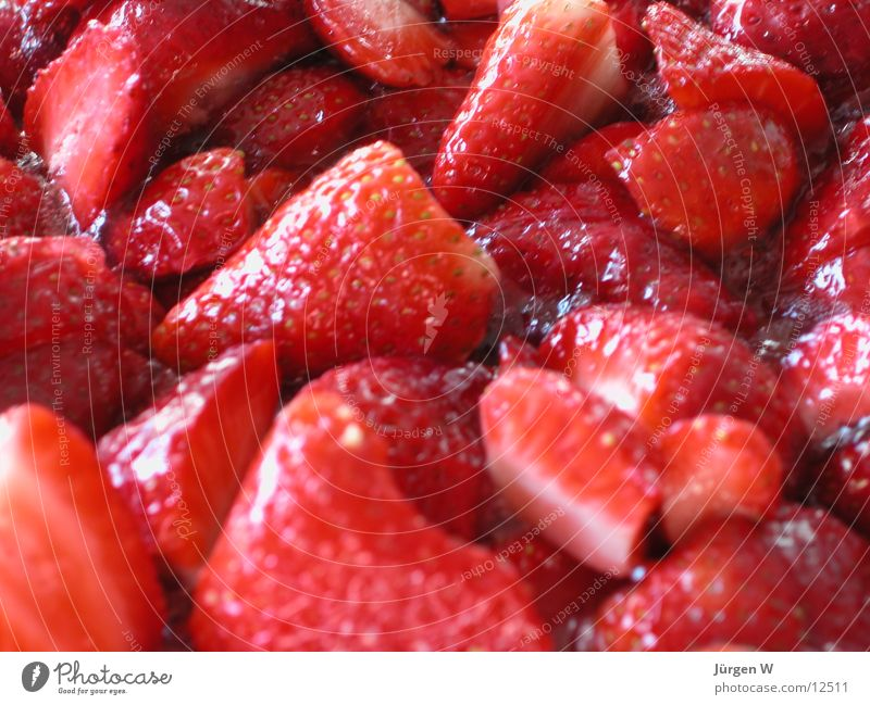 Red Fruit Sweet Delicious Candy Strawberry