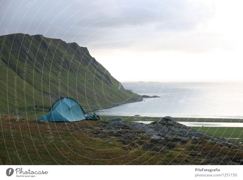 The Grand Lofoten Hotel Vacation & Travel Trip Adventure Far-off places Freedom Expedition Camping Summer Summer vacation Sun Ocean Mountain Hiking Sky Hill