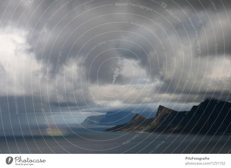 Sky Nature Ocean Landscape Calm Clouds Mountain Environment Coast Exceptional Rock Horizon Rain Idyll Adventure Peak