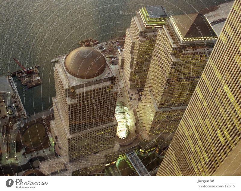 High-rise USA New York City Twilight North America World Trade Center