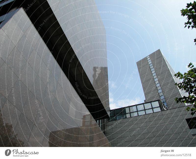 Sky Blue Architecture High-rise Duesseldorf
