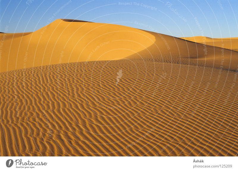 Sand Waves Africa Desert Beach dune Sahara Niger