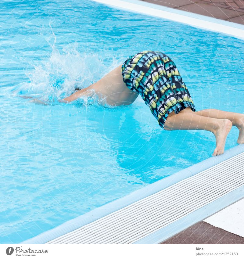 Human being Life Movement Boy (child) Swimming pool Relationship Testing & Control