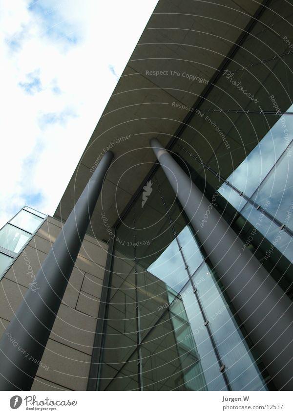 Sky Architecture Facade Entrance Column Duesseldorf Front side Stilwerk