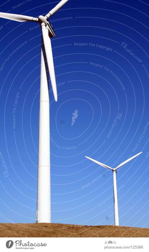 .:: Windmill III ::. Summer Autumn Winter Field Wind energy plant soon Sky