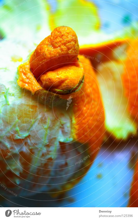 Orange Healthy Fruit Fresh Part Plate Vitamin Bowl Molt