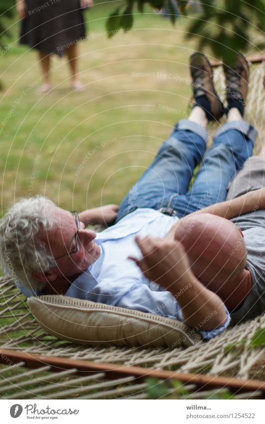 funny male friendship in the hammock Male friendship men 2 Happiness Agreed Together Joie de vivre (Vitality) Joy Contentment Relaxation Leisure and hobbies