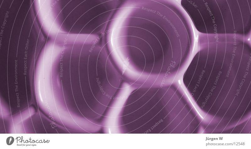 honeycombs Violet Pattern Things Honey-comb Plastic purple