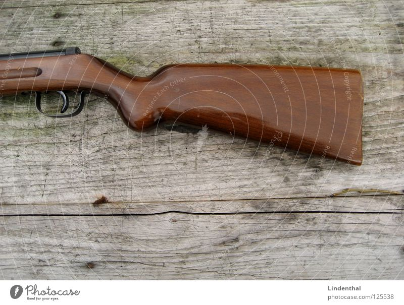 Wood Fear Table Target Panic Door handle Weapon Rifle
