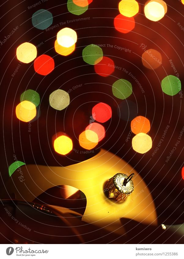 Broken glass, Christmas balls. Christmas & Advent Green Beautiful Colour Red Winter Happy Feasts & Celebrations Art Bright Glittering Design Decoration