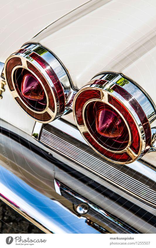 Old Style Design Car Elegant Esthetic Luxury Vehicle Motor vehicle Classic Vintage car Chrome Decadence Stern Rear light Cockpit