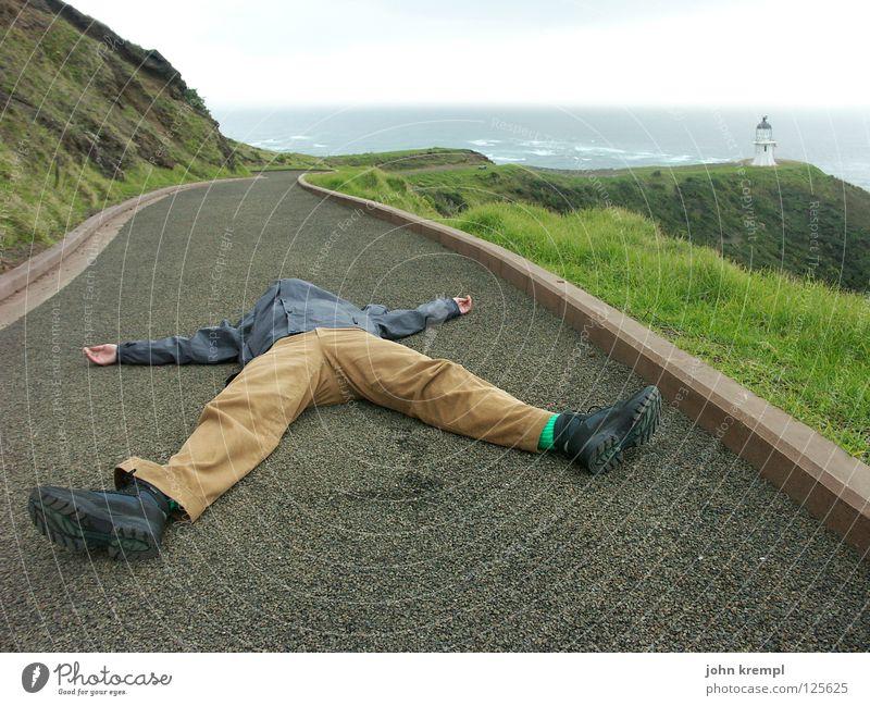 Ocean Beach Death Waves Coast Sleep End Lie Norway Monument Culture Landmark Lighthouse Cliff New Zealand Pacific Ocean