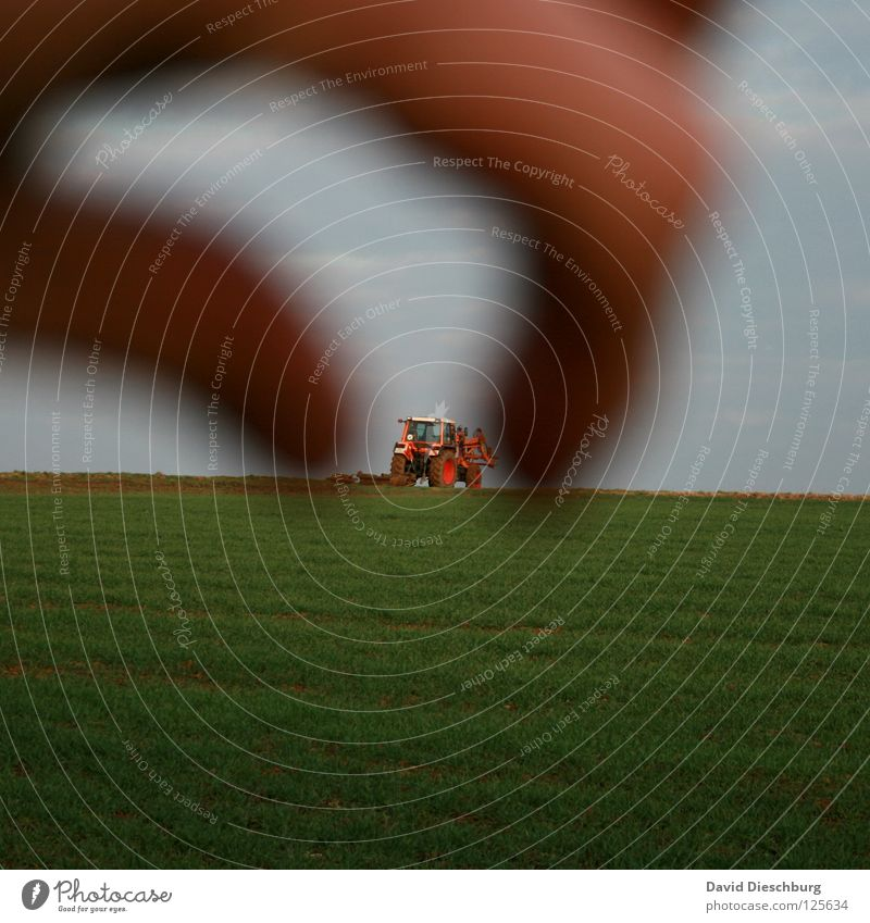 Hand Sky Green Blue Red Clouds Meadow Orange Field Transport Fingers Toys Catch Agriculture Farmer Wheel