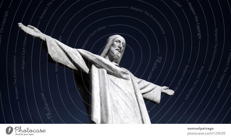 picture Sky Image (representation) Deities House of worship Historic Peace céu imagem crito braços abertos god