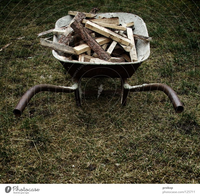 de-spurt Wheelbarrow Wood Work and employment Rural Craft (trade) Firewood Rust Heavy Effort Saw Stack of wood Meadow Grass Push Sporting event Competition