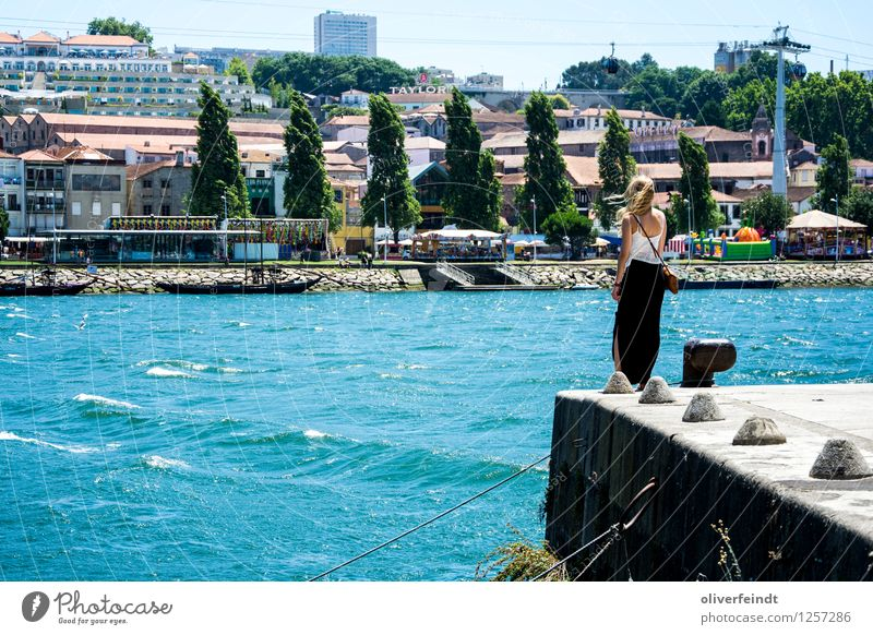 Porto X Vacation & Travel Tourism Trip Sightseeing City trip Summer Summer vacation Human being Feminine Young woman Youth (Young adults) 1 18 - 30 years Adults