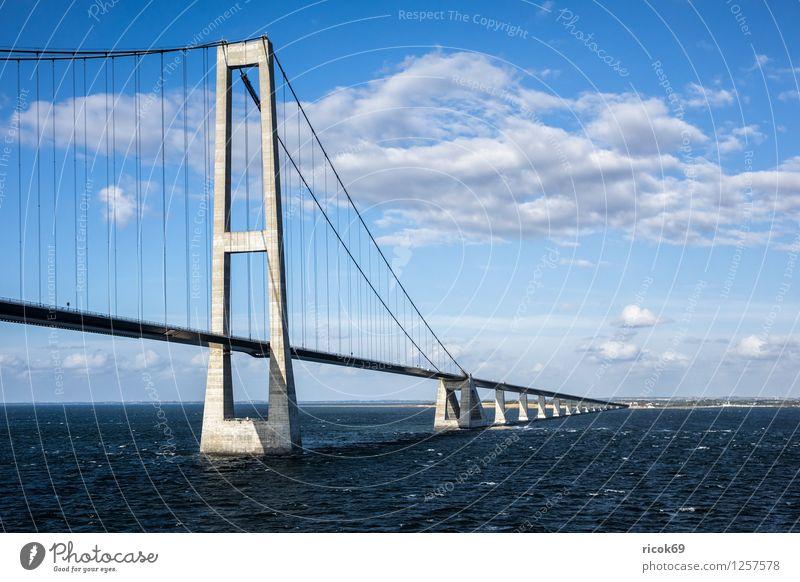Nature Landscape Clouds Architecture Lanes & trails Coast Transport Bridge Baltic Sea Mobility Denmark Copenhagen Tollbooth Malmo Oeresund bridge