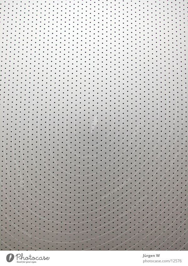 perforated sheet Plate with holes Hollow Tin Gray Things Perforated plate sheet metal Metal grey