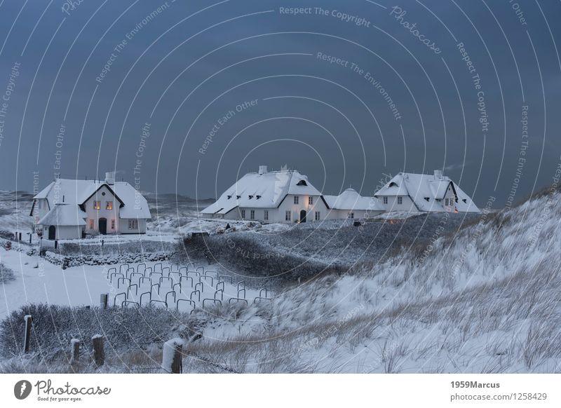 Sky Nature Vacation & Travel Landscape Clouds Winter Snow Coast Island North Sea