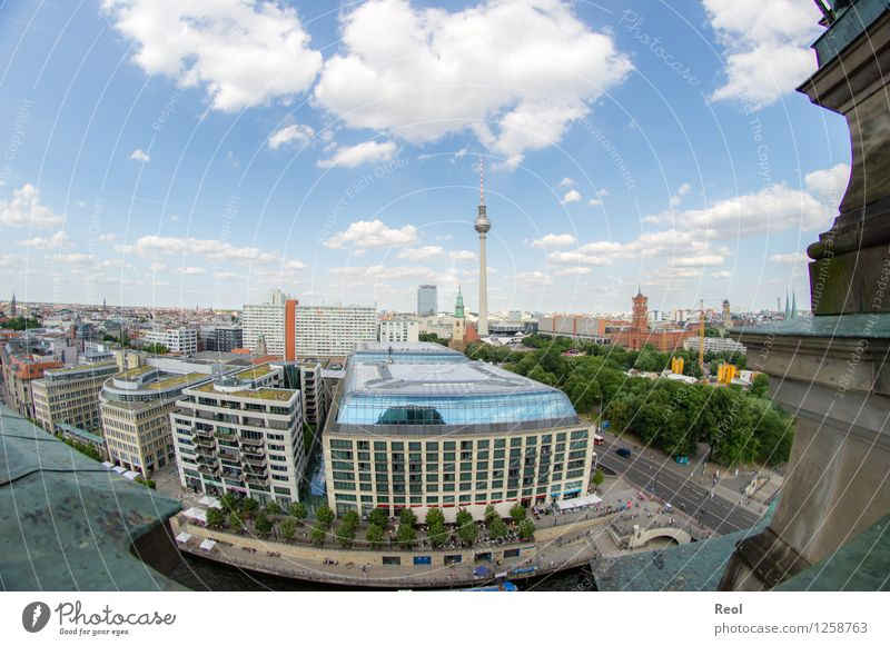 Berlin Environment Nature Sky Clouds Summer Beautiful weather Germany Town Capital city Downtown Skyline Populated House (Residential Structure)