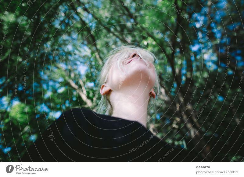 sky is above Sky Nature Summer Tree Landscape Leaf Joy Life Emotions Feminine Lifestyle Playing Garden Freedom Moody Wild