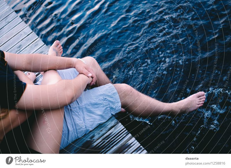 chilling on the water Vacation & Travel Summer Relaxation Joy Life Love Emotions Style Playing Legs Lifestyle Freedom Moody Friendship Leisure and hobbies Authentic