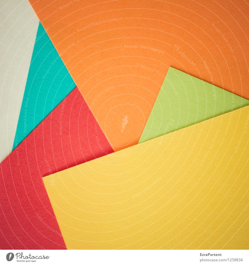 Blue Green Colour White Red Yellow Style Background picture Line Bright Orange Leisure and hobbies Design Wild Esthetic Illustration