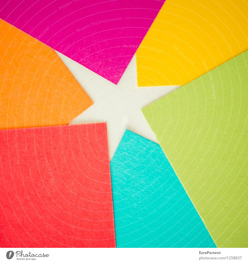 asterisk Elegant Style Design Leisure and hobbies Playing Handicraft Sign Line Esthetic Blue Multicoloured Yellow Green Violet Orange Red Turquoise White Colour