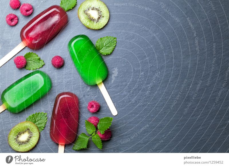Water ice with fruit Food Fruit Dessert Ice cream Candy Organic produce Vegetarian diet Diet Fasting Juice Lifestyle Joy Healthy Healthy Eating Wellness