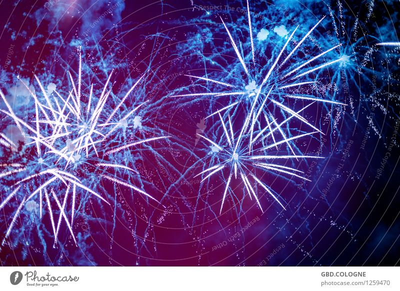 Blue Beautiful Joy Feasts & Celebrations Moody Above Party Glittering Illuminate Esthetic Future Infinity Violet New Year's Eve Event Bizarre