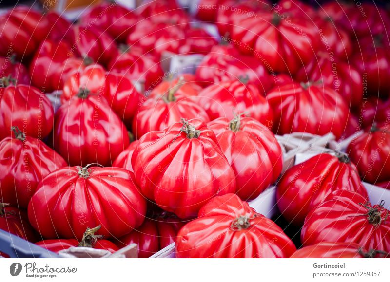 Red Healthy Food Fresh Nutrition Vegetable Delicious Organic produce Markets Vegetarian diet Tomato Italian Food Market stall