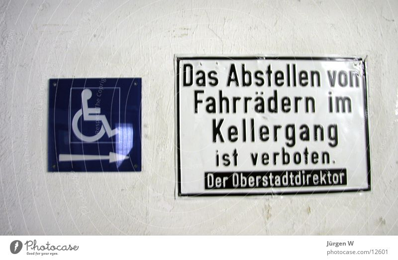 forbidden Bans Bicycle Wheelchair Symbols and metaphors Typography Signs and labeling Signage Parking forbade sign