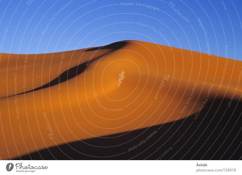 Sand Africa Desert Beach dune Beautiful weather Dusk Drought Sahara Niger