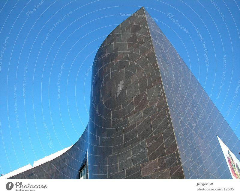 Sky Blue Black Architecture Duesseldorf Museum Granite North Rhine-Westphalia Art collection
