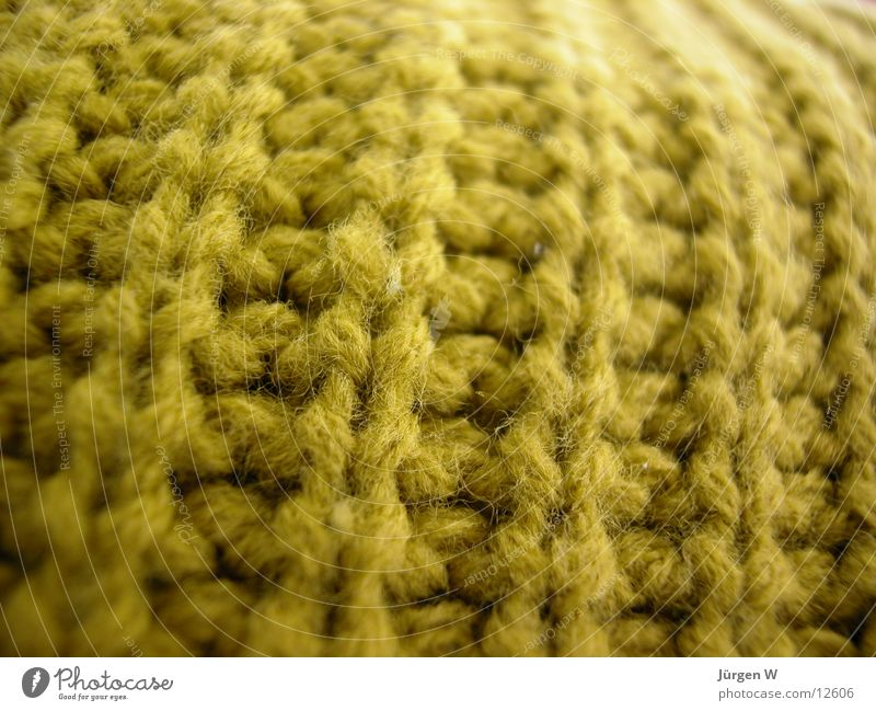 pure new wool Wool Sweater Green Pattern Knit Craft (trade) Close-up Leisure and hobbies Macro (Extreme close-up) Handcrafts creased hade-made