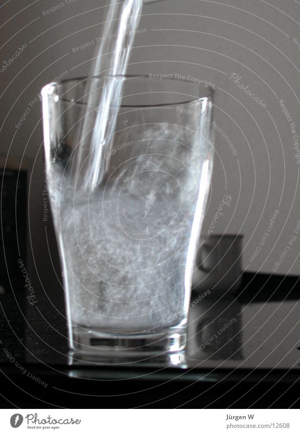 Water Glass Wet Beverage Thirst Fill