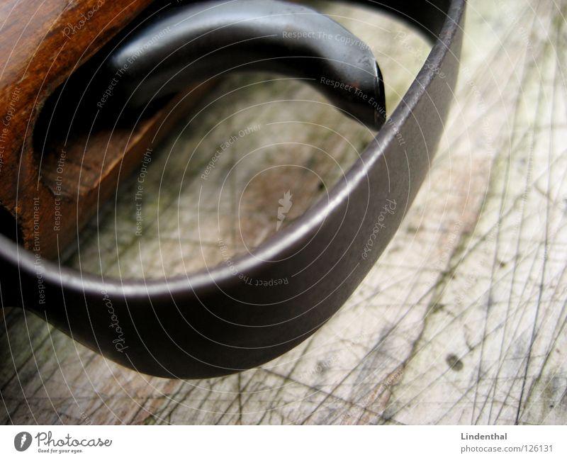 RIFLE III Table Wood Rifle Weapon Door handle Fear Panic Target