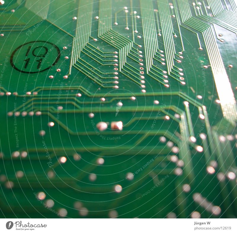 labyrinth Computer Circuit board Green Things Electrical equipment Technology labyrinthine plate