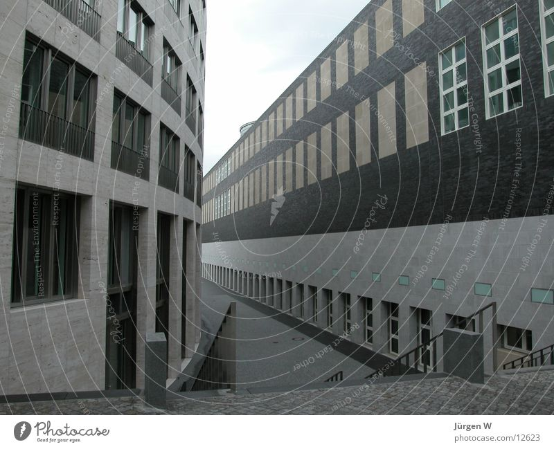 interspace Window Building Graf Adolf Platz Spacing Architecture Duesseldorf