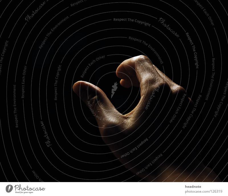 Hand Black Dark Glittering Skin Wet Fingers Empty Damp Door handle Perspiration