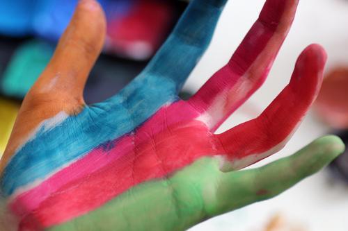 depict sb./sth. Design Exotic Joy Life Handicraft Model-making Decoration Carnival Parenting Education Kindergarten Child Schoolchild Student Fingers Esthetic