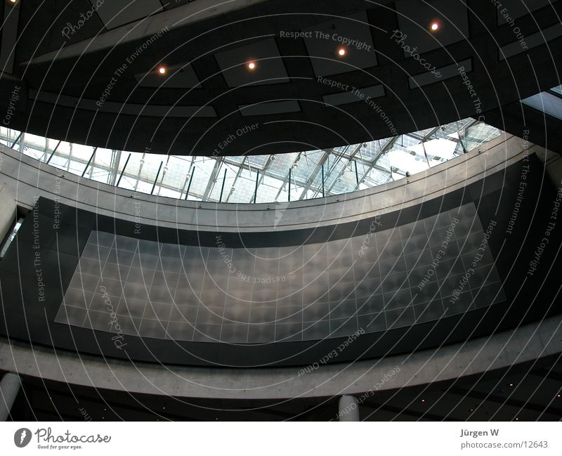 Architecture Glass Round Roof Museum Bonn